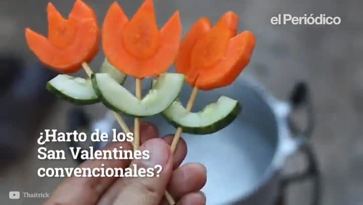 Menú a base de bichos para San Valentín
