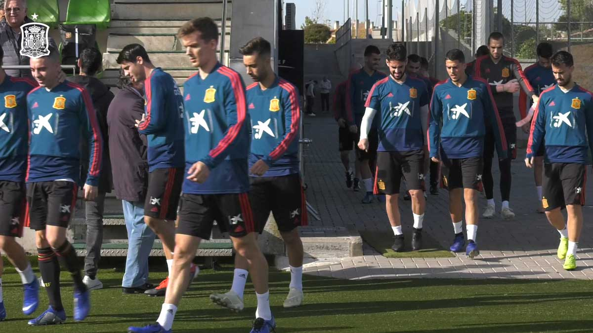 La Selección prepara el partido frente a Croacia.