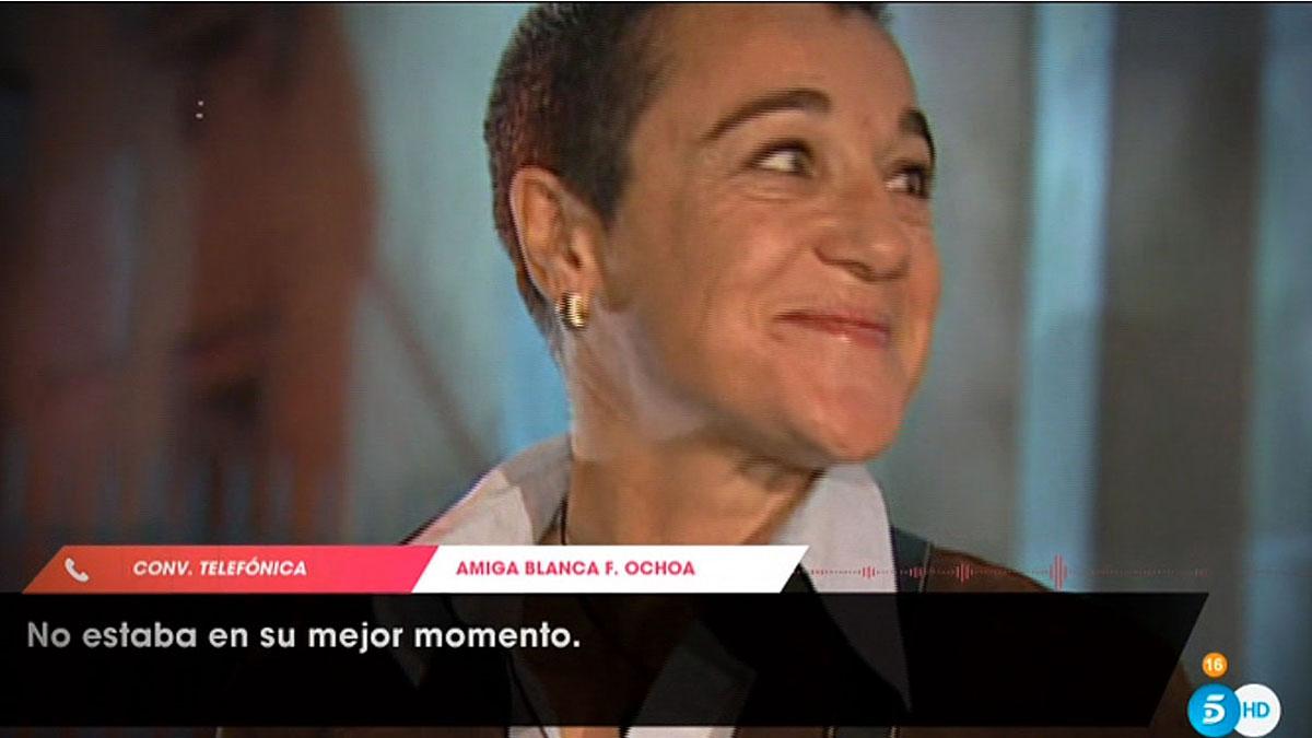 Blanca Fernández-Ochoa ('Viva la vida', T-5).