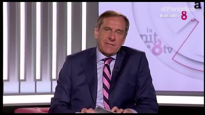 Ramon Rovira debutó con La nit en 8TV.