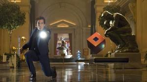 Ben Stiller, en una escena de la película Noche en el museo 2.
