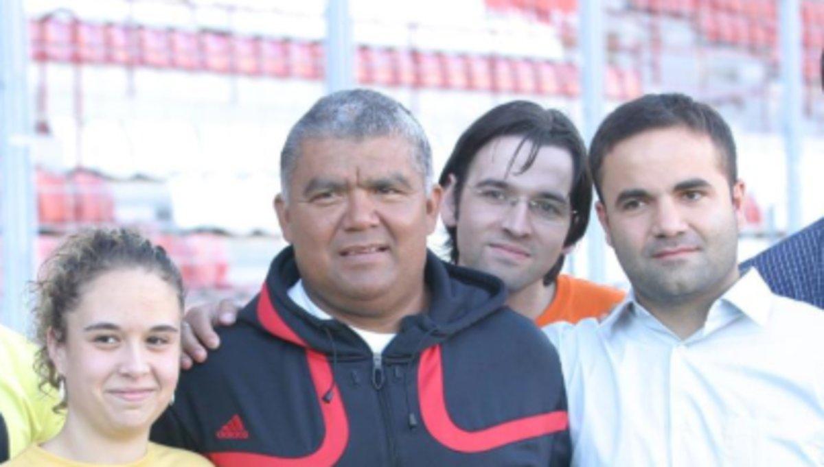 Una imagen de Figueroa en su última visita a Murcia, en 2006