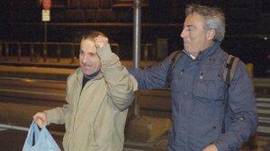 La salida de la cárcel de Óscar Sánchez, el lavacoches de Montgat.
