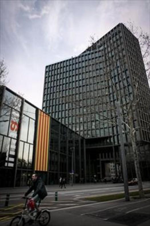 VENTA Edificio de Mediapro, en la avenida Diagonal de Barcelona.