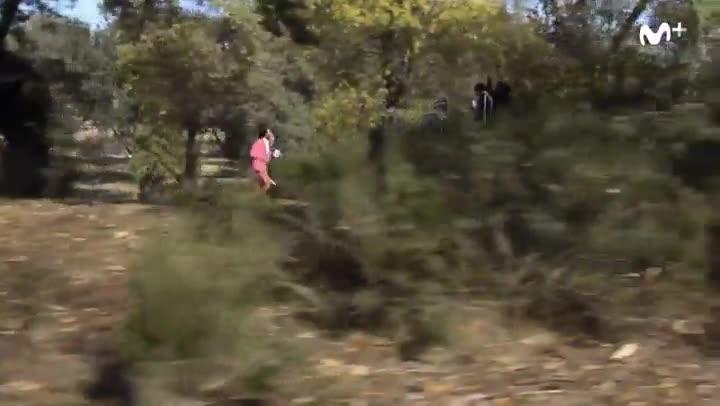Vídeo promocional de Running show, de la plataforma Movistar+.
