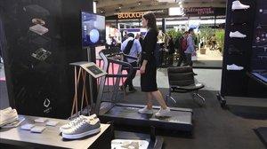 Zapatillas Ecco conectadas en el IOTSolutions World Congress, el congreso de la internet de las cosas.