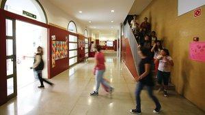 Una escuela concertada de Barcelona.