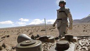 Batalla obligada contra las minas antipersona