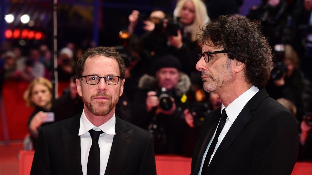 Los hermanos Coen en la Berlinale del 2016.