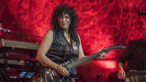 Rosana, en el Palau de la Música, en marzo del 2017.