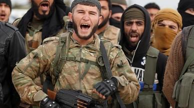 Erdogan emplea al Ejército Libre Sirio como fuerza de choque en su ofensiva contra los kurdos