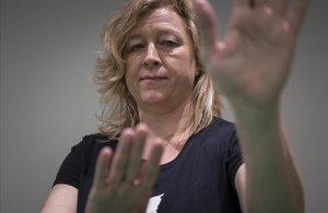 """Karin Konkle: «Si algú t'alarma: afluixa el cos, respira, nota els peus"""""""