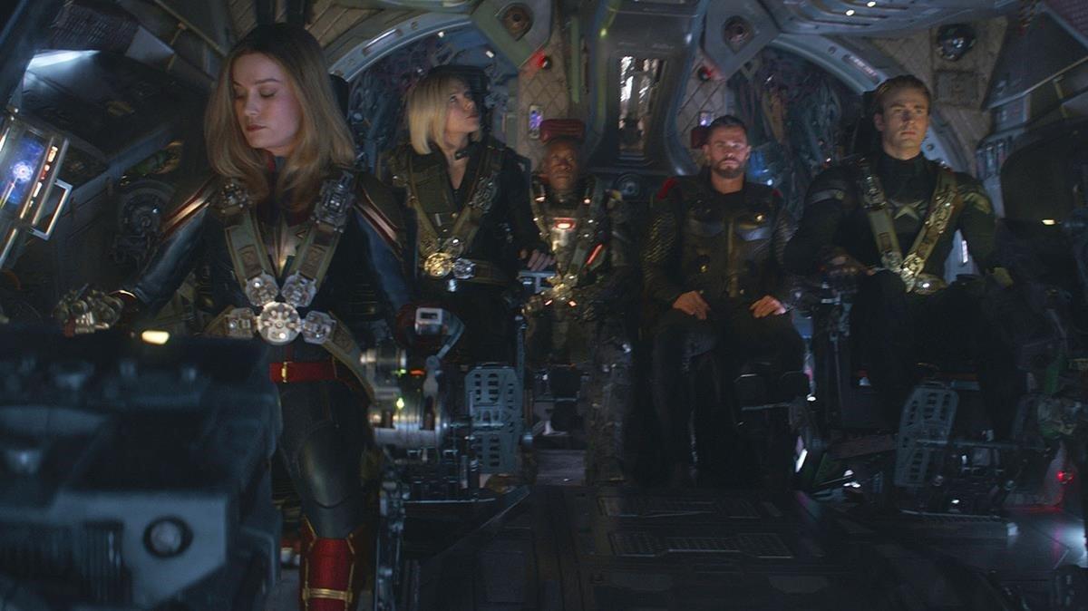 Un momento de 'Avengers: Endgame'.