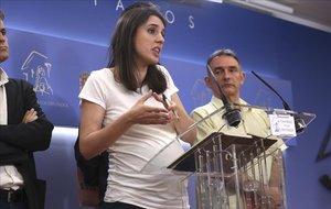 Irene Montero demana votar de forma telemàtica en la investidura pel seu avançat embaràs