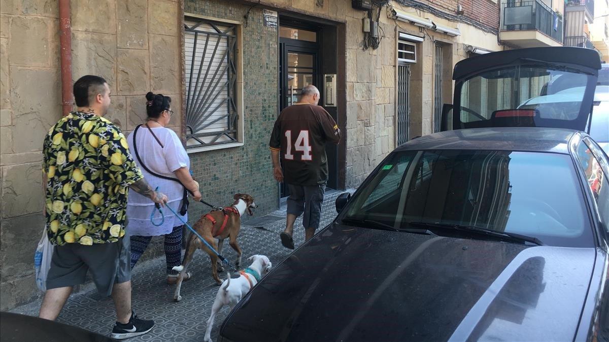 Els Mossos investiguen la mort d'un matrimoni d'avis a Barcelona