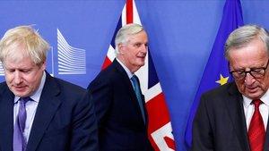 El 'brexit' surt de l'embús