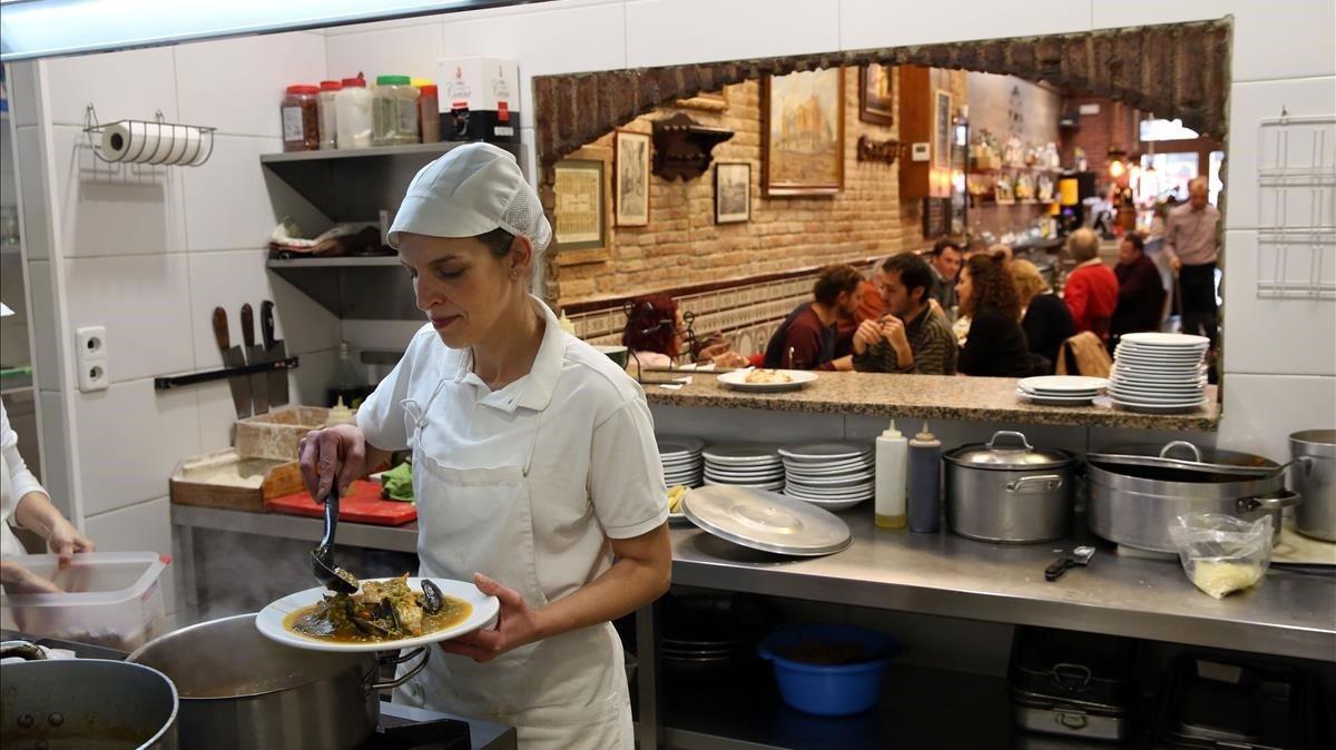 10 bons restaurants de Barcelona de menjar casolà