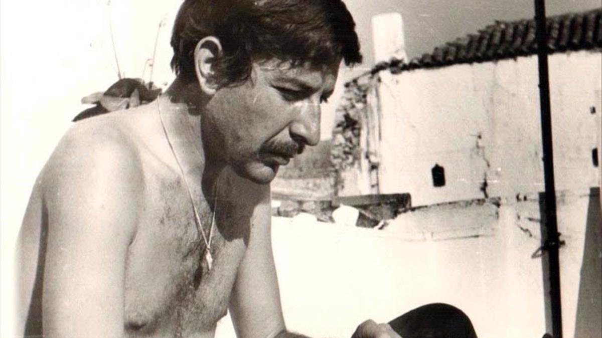 Leonard Cohen, en la isla de Hidra en los 60.