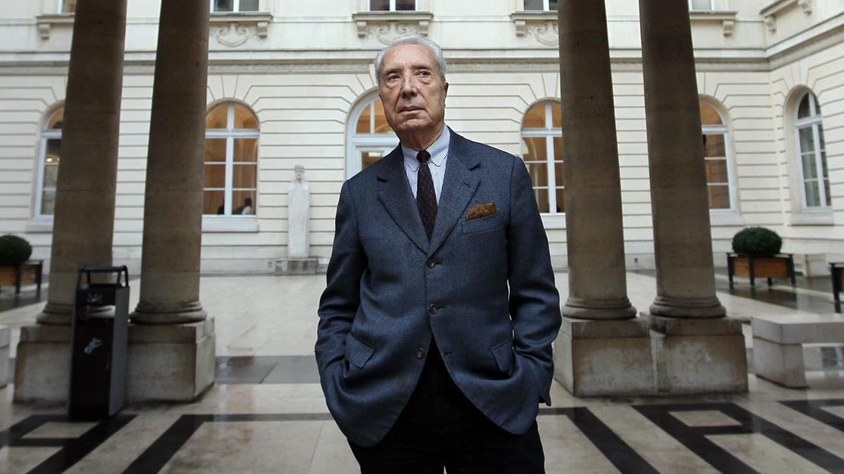 El académico francés Marc Fumaroli, en una imagen del 2011.