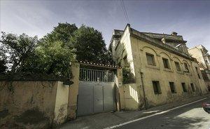 Aspecto actual de la Can Raventós, en Sarrià.