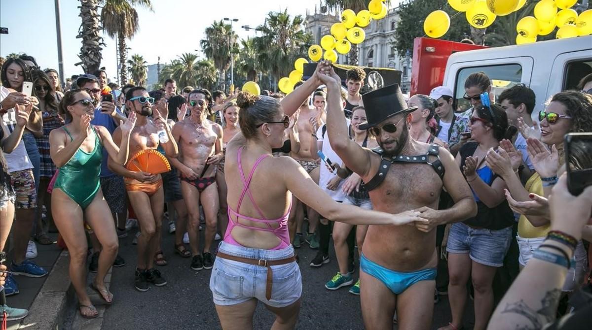 sesiones de entreno escalvo gay barcelona