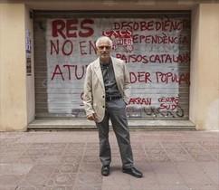 El exjuez Santi Vidal, el año pasado en Sabadell.