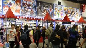 Ambiente en el pasado Salón del Manga de Barcelona.