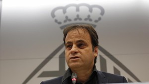 Jaume Asens, en rueda de prensa en el ayuntamiento este martes.