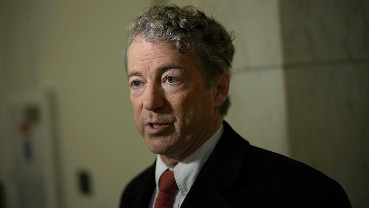 el senador estadounidense Rand Paul