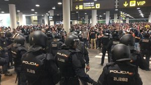 Les protestes per la sentència causen pèrdues milionàries a Foment