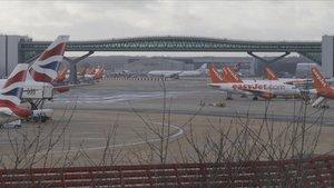 Aeropuerto de Gatwick.