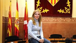 La alcaldesa de Rubí, Ana María Martínez.