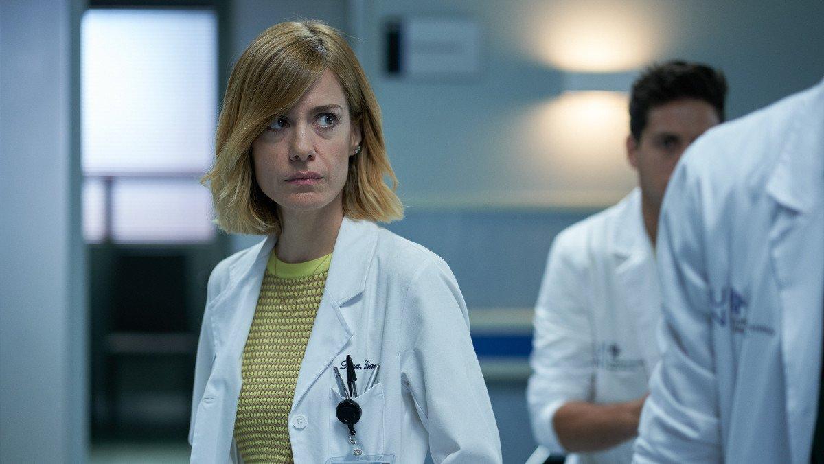 Alexandra Jiménez, en la serie de TVE-1 Hospital Valle Norte.