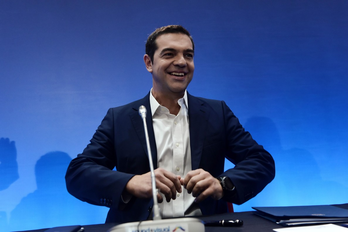 Grecia da bienvenida a