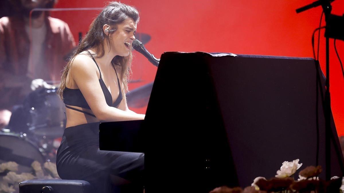 Amaia, en el concierto que ofreció en el Liceu