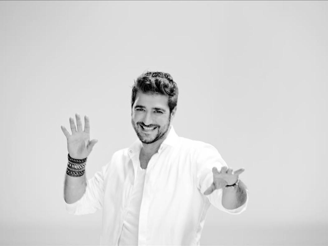 El cantante barcelonés Antonio Orozco.