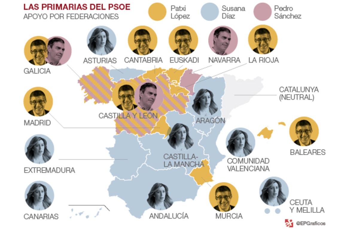 Barones contra plebeyos en el PSOE