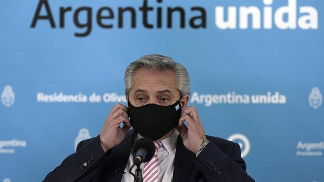 Argentina y México producirán la vacuna de AstraZeneca y Oxford. Así lo ha explicado el presidente argentino, Alberto Fernández.