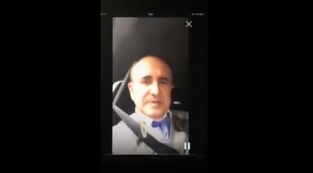 El asalto al periodista Ferriz, grabado en directo en México.