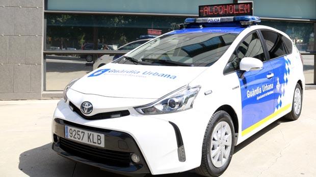 Así son los nuevos coches híbridos de la Guàrdia Urbana de Barcelona.