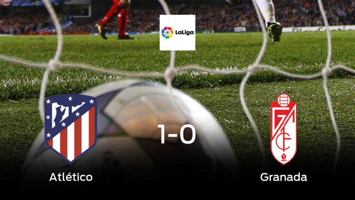 El Atlético de Madrid se queda con la victoria frente al Granada (1-0)