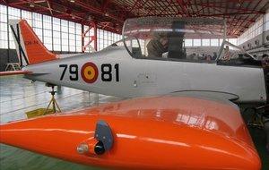 Avión Tamiz del Ejército del Aire.