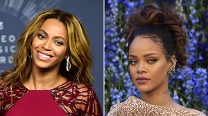 Beyoncé y Rihanna, las reinas de Spotify.