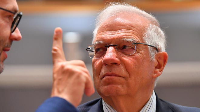 Borrell reconoce que el independentismo catalán puede influir en su cargo en la UE.