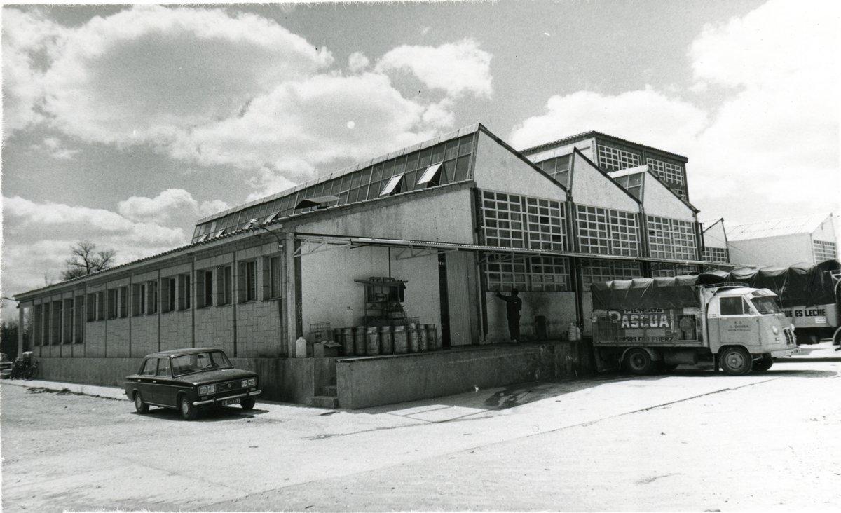Calidad Pascual, primeras instalaciones fabriles en Aranda de Duero, Burgos.
