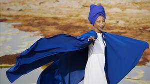 La cantante malí Fatoumata Diawara