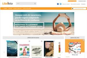 Captura de la web de Libelista.