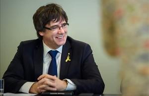 Carles Puigdemont, expresidente de la Generalitat