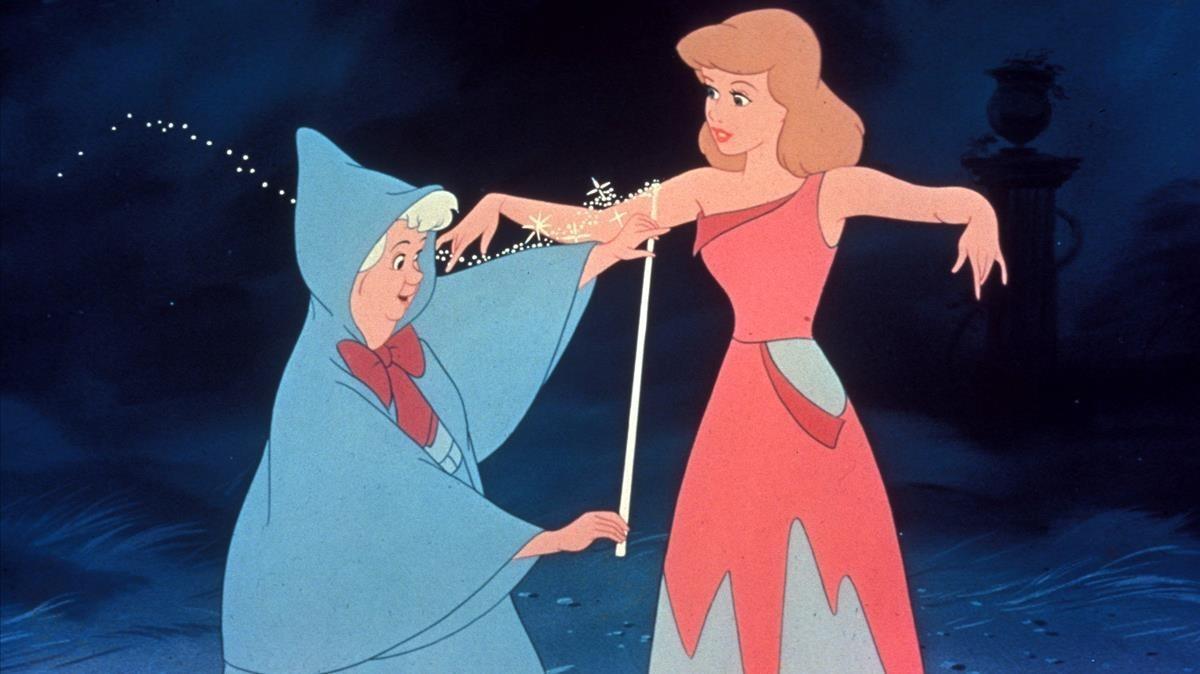 La Cenicienta de Disney.