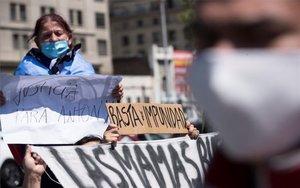 Protestas en contra de los abusos de la Policía en Chile.
